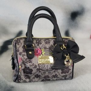 Betsey Johnson Skull and Rose's Mini Purse